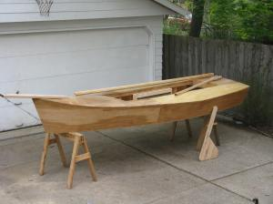 I like the rudder- laminate oak