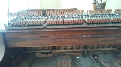 My Lindeman Piano with the engine removed. Beautiful!