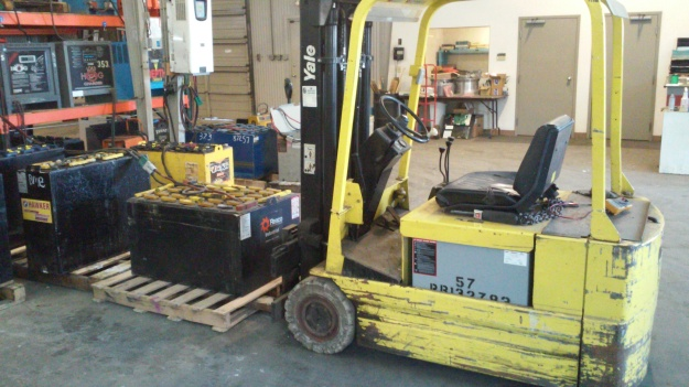 Although perhps not strictly necessary for fixing windshield wipers- one never can be sure when one might need a forklift!