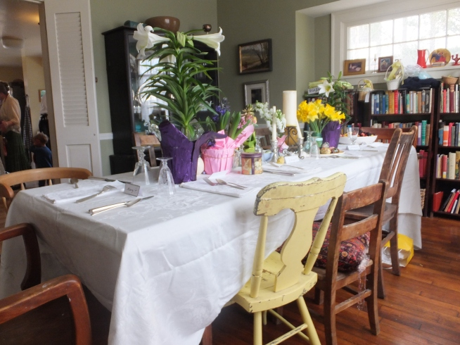 The stage is set for the ideal Easter Brunch