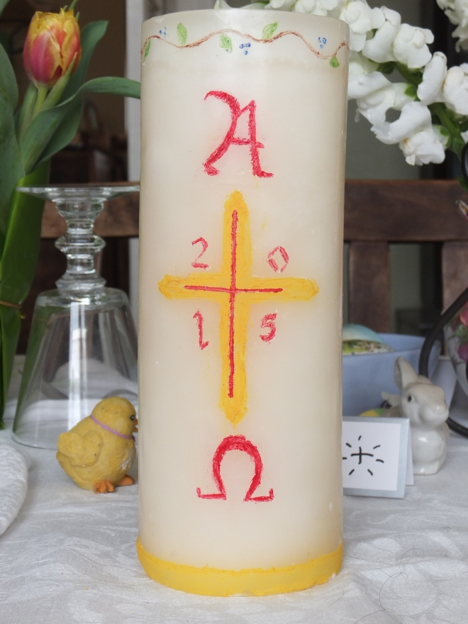 The Alleluia Candle