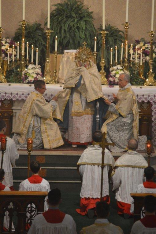 Cardinal Burke Benediction