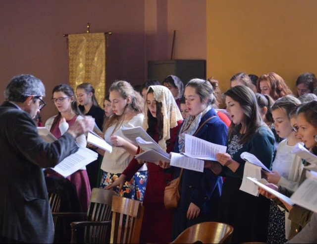 Choir at Divine Liturgy