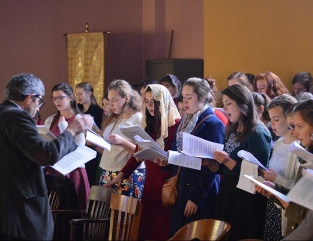 Choir at Divine Liturgy