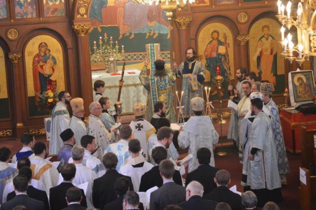 Divine Liturgy procession