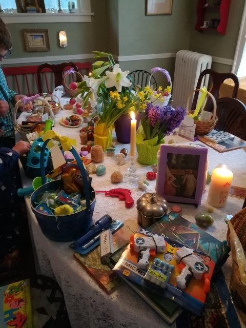 Easter Morning Table
